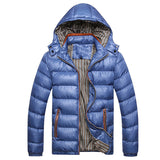 Men Winter Jackets Casual  Men Windbreak Solid Quality Coat