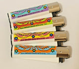 Brand New 4 Clipper Lighters Eyes Collection Full Series Refillable
