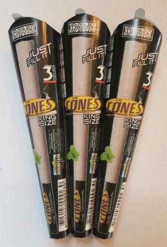 Smoking Pre Rolled Cones Lot Of 3X3 King Size With Filter Tips - Pre Rolled Cones