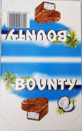 Bounty Coconat Candy Bar Lot Of 24X57Gr - Snacks