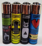 4 Clipper Lighters Gamers Collection - Clipper Lighters