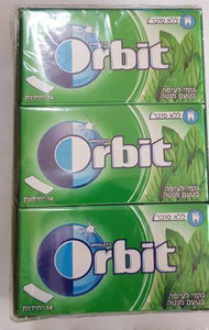 Brand New Wrigley's Orbit Professional Gum 12x14 Tabs Spearmint kosher - benz-market