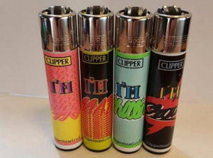 4 Clipper Lighters Emotions Collection - Clipper Lighters