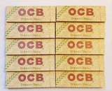 Ocb Rolling Papers Organic Hemp Lot Of 10X50 Booklets 70Mm - Rolling Papers