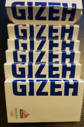 Lot Of 5 Booklets Gizeh Original 100 Rolling Papers Magnet Pack - Rolling Papers