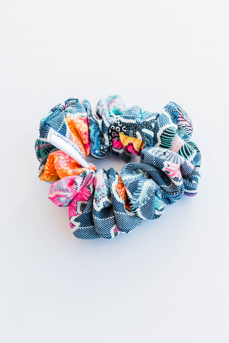 Cali Blues Scrunchie