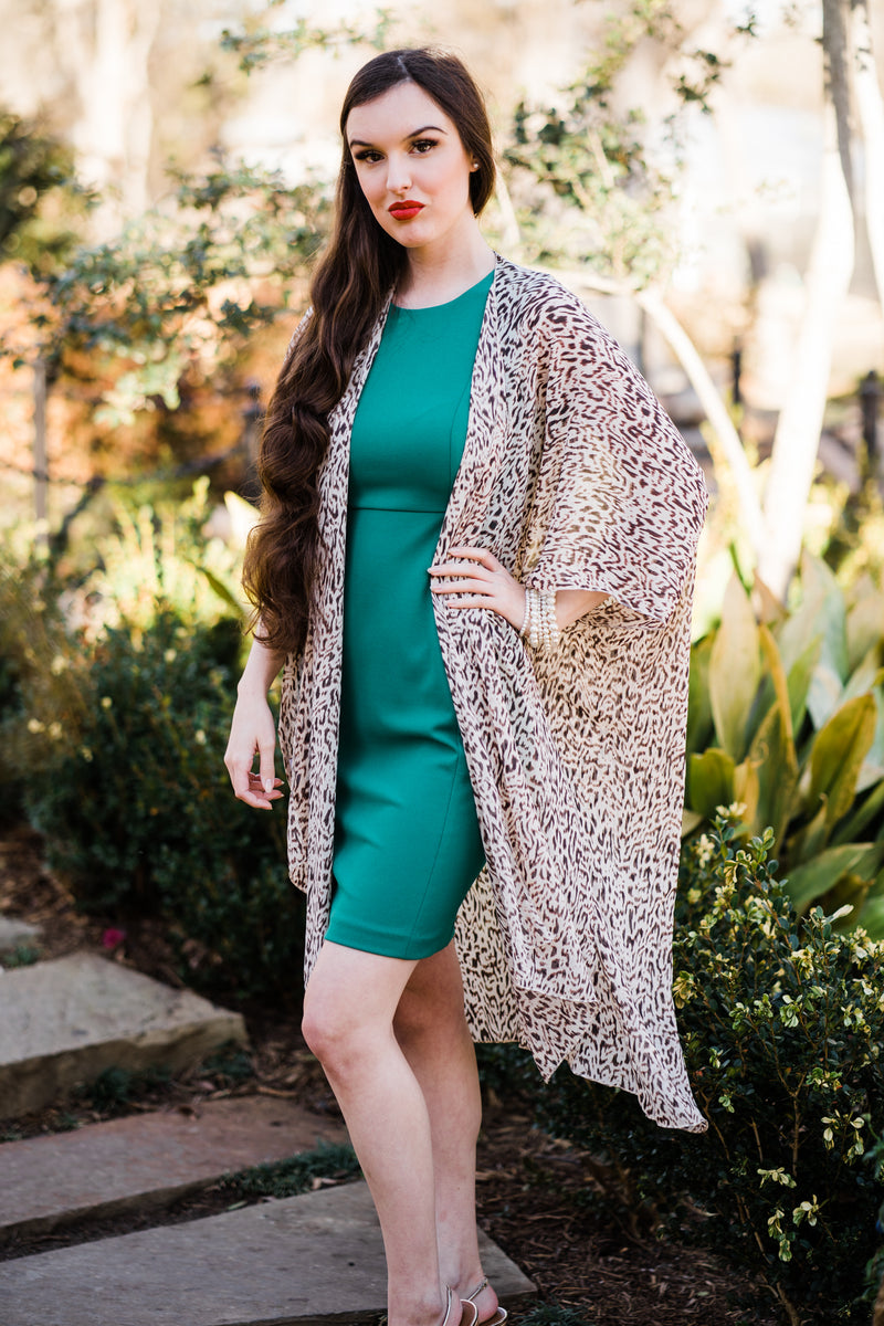 Evie Chiffon Duster