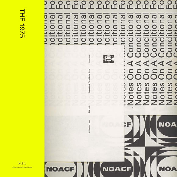 The 1975 - Notes On A Conditional Form-LP-Polydor- -Muckypeg records