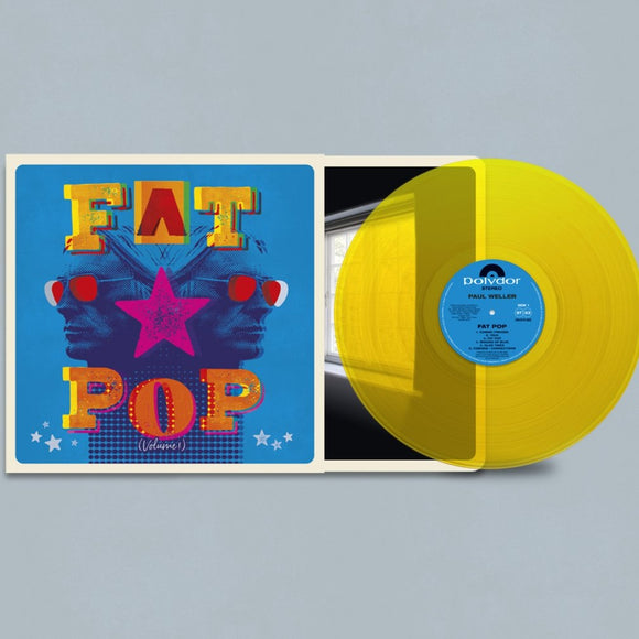 Paul Weller - Fat Pop (Volume 1)-LP-Polydor- 3556627-Muckypeg records