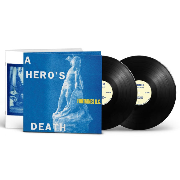 Fontaines D.C. A Hero's Death - Deluxe gatefold double LP on 45rpm-LP-Partisan Records- -Muckypeg records