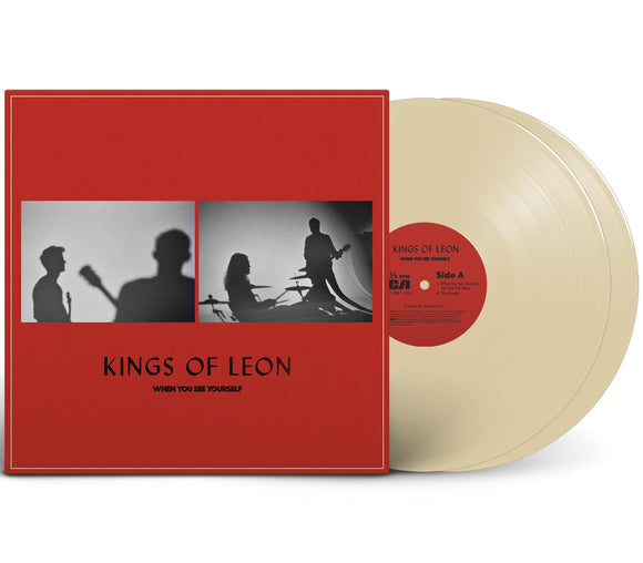 Kings of Leon - When You See Yourself | Cream Vinyl-LP-RCA- 19439768611-Muckypeg records