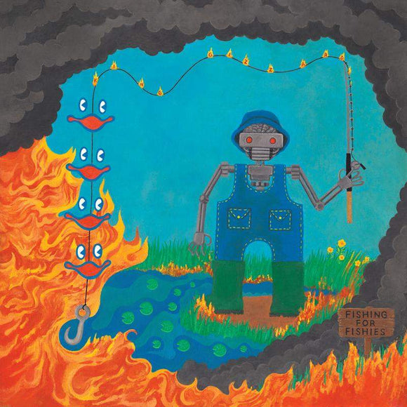 King Gizzard & The Lizard Wizard - Fishing For Fishies-LP-Flightless- FLT-048LPX-Muckypeg records