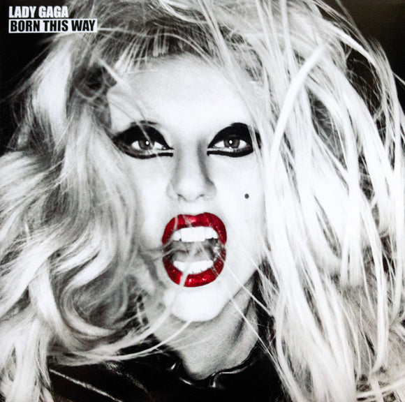 Lady Gaga ‎– Born This Way-LP-Interscope Records- LC06406-Muckypeg records