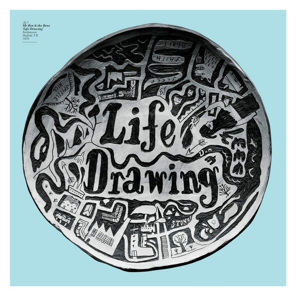 Mr Ben & the Bens - Life Drawing-LP-Bella Union- BELLA1043V-Muckypeg records
