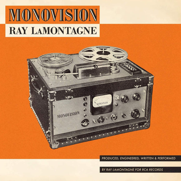 Ray LaMontagne - MONOVISION-LP-Columbia Records- 19439777041-Muckypeg records
