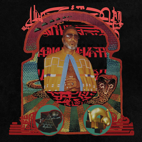 Shabazz Palaces - The Don Of Diamond Dreams-LP-Sub Pop- -Muckypeg records