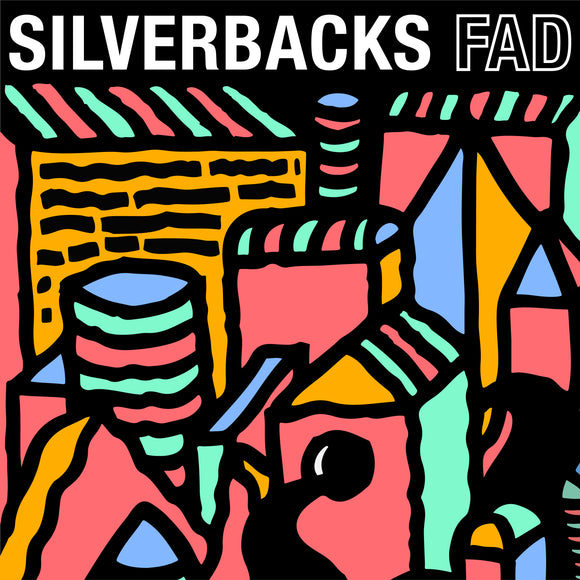 Silverbacks - Fad-LP-Central Tones- -Muckypeg records