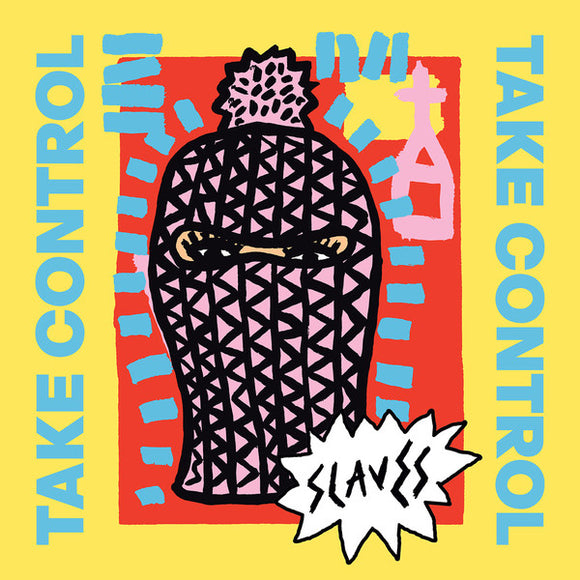 Slaves - Take Control-LP-Virgin EMI- V3162-Muckypeg records
