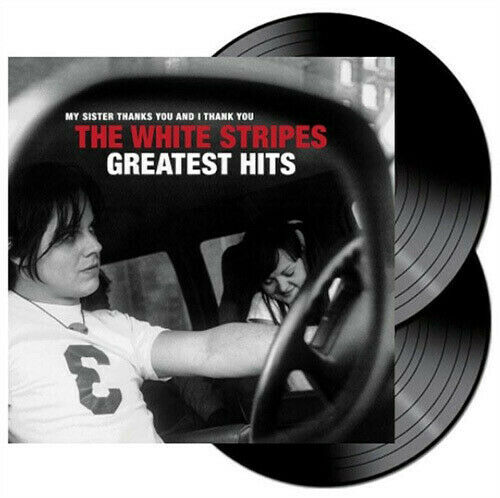 THE WHITE STRIPES GREATEST HITS | Black Vinyl-LP-Third Man Records- 81354702963-Muckypeg records