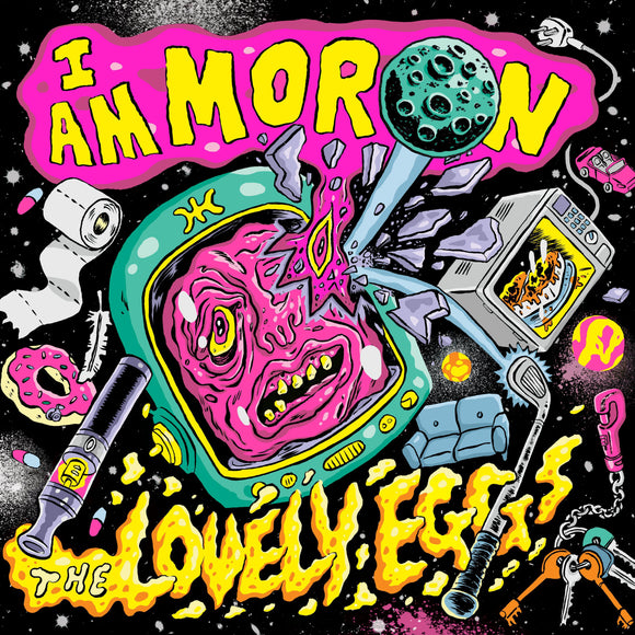 The Lovely Eggs - I Am Moron-LP-Egg Records- EGG013LP-Muckypeg records