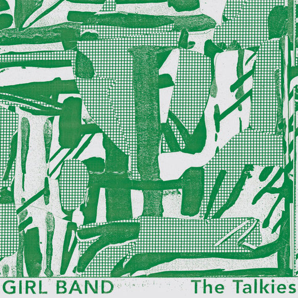 Girl Band ‎– The Talkies-LP-Rough Trade- RT0065LP-Muckypeg records