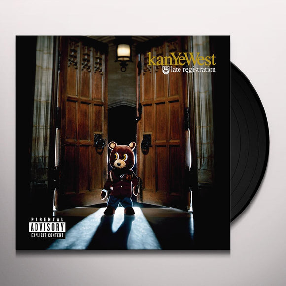 Kanye West- Late Registration-LP-Roc-A-Fella Records- 9882404-Muckypeg records