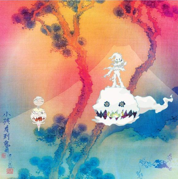 Kanye West & Kid Cudi – KIDS SEE GHOSTS-LP-Def Jam Recordings- 6780048-Muckypeg records