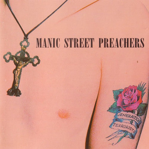 Manic Street Preachers - Generation Terrorists (Remastered) Vinyl-LP-Sony- 88725471251-Muckypeg records