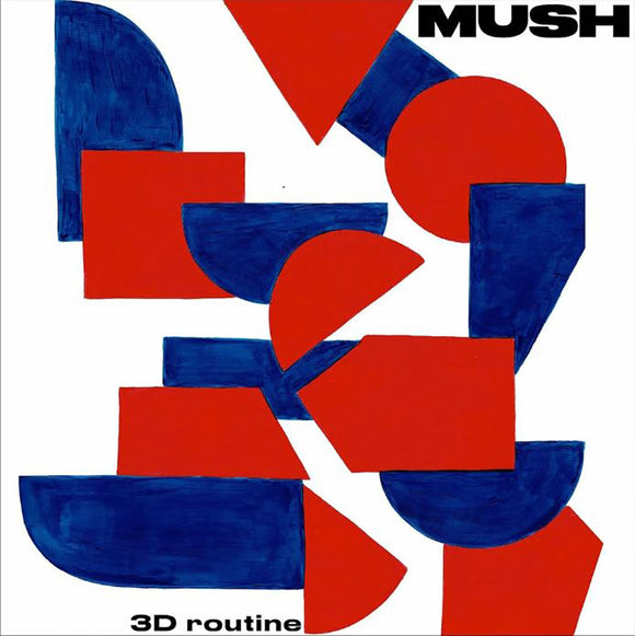 Mush - 3D Routine-LP-Memphis Industries- MI0577LP-Muckypeg records