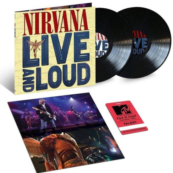 Nirvana ‎– Live And Loud 2LP-LP-DGC- 7732953-Muckypeg records