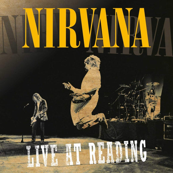 Nirvana ‎– Live At Reading 2LP-LP-DGC- B1353801-Muckypeg records
