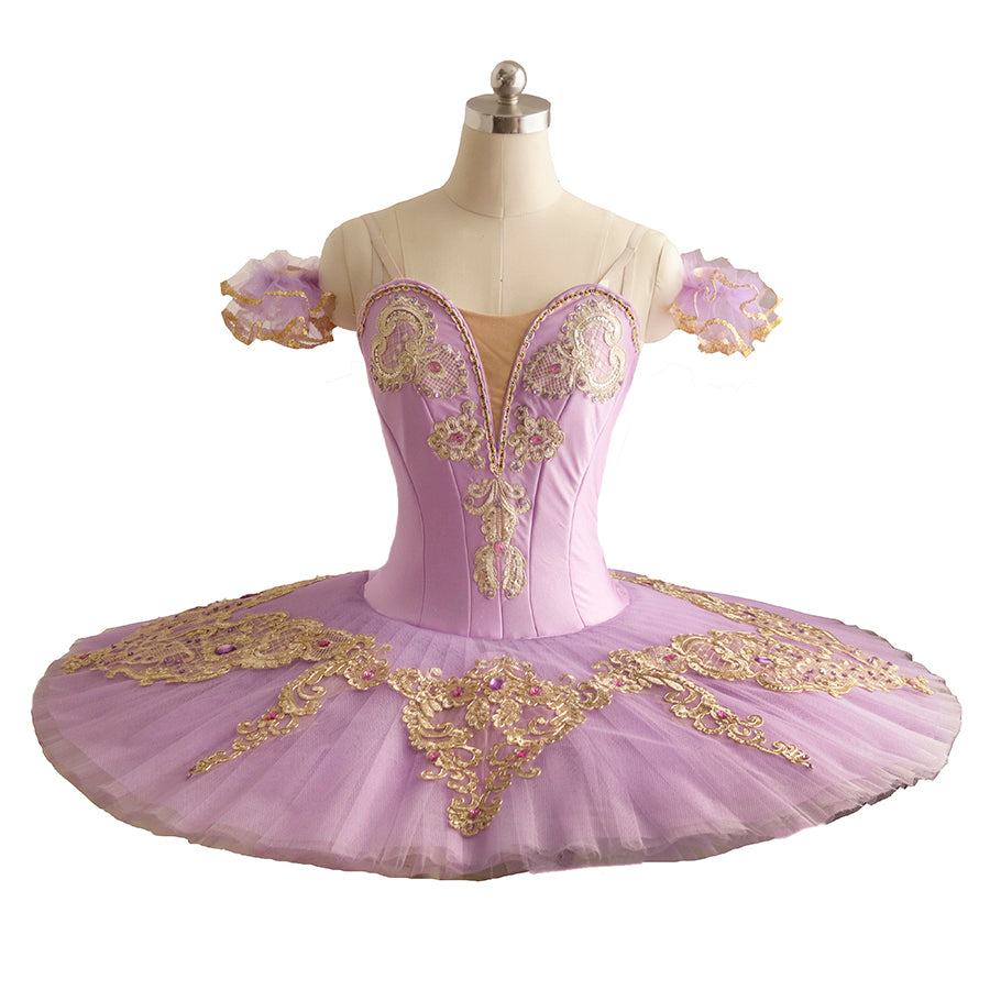 £8 WAS £36 QUALITY FRILLY LILY LONG LILAC FAIRY TUTU 4-6 NOT MADE IN CHINA