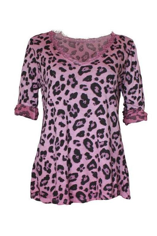 Camiseta animal print - VdM Atelier