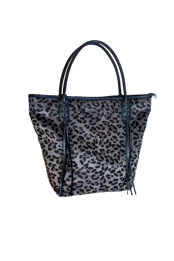 Bolso estampado animal print