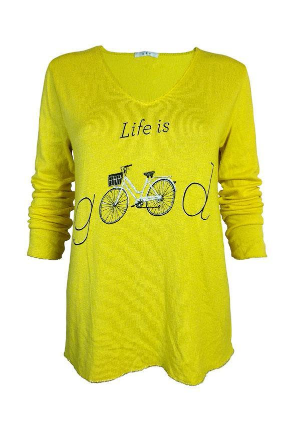 "Jersey ""life is GOOD"" - VdM Atelier"