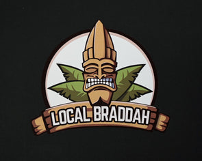 Local Braddah Full Color Logo Decal