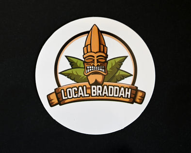 Local Braddah Sticker - Small