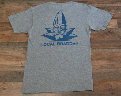 Local Braddah Unisex Tee - Athletic Heather