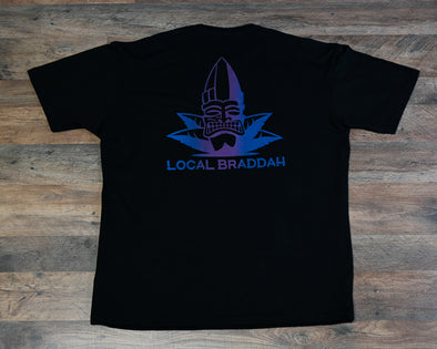 Local Braddah Unisex Tee - Black