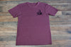 Local Braddah Unisex Crew Tee - Maroon Heather