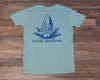 Local Braddah Unisex Tee - Seafoam