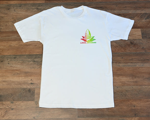 Local Braddah Unisex Tee - White