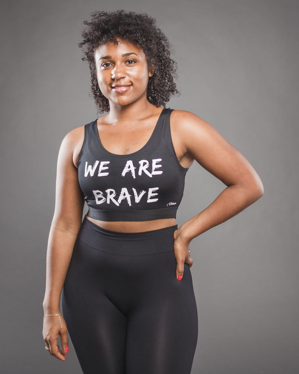 Urbeon Brave Sports Bra in Black - Urbeon