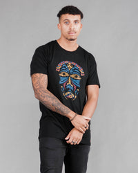 Astral Long Tee in Black