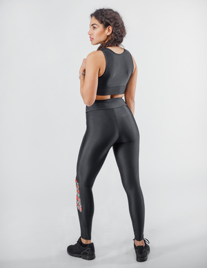 Bogolan Non-See-Through Sport Leggings