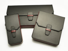 Load image into Gallery viewer, New Penvelope 12 Black Merlot Leather