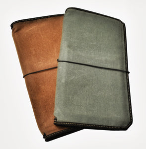 """VN"" - Vagabond Canvas Notebook Covers"