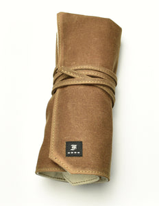 5 Watch Roll - Umber Canvas