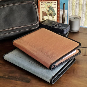 Waxed Canvas Padfolios