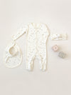 Full Snap Footie | ivory - Quincy Mae | Baby Basics | Baby Clothing | Organic Baby Clothes | Modern Baby Boy Clothes |